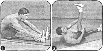 Комплекс для розвитку гнучкості нижнього відділу спини і підколінних сухожиль