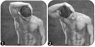 Комплекс для розвитку гнучкості верхніх пучків трапецієподібного м`яза