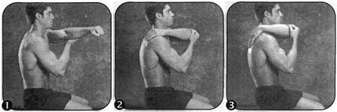 Комплекс для розвитку гнучкості плечового пояса (горизонтальне розтягування)