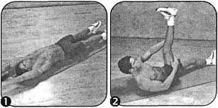 Комплекс вправ для розвитку гнучкості торса і колін