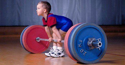 Рекомендації по тренуваннях для дітей