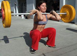 Важкоатлетичні вправи 3-го тижня 3-го підготовчого місяці в тренуванні штангіста.