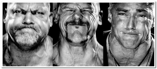 гримаси на обличчях штангістів