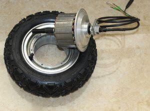 мотор-колесо для електросамоката