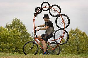 Самі незвичайні велосипеди в світі