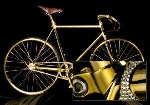 найдорожчий в світі велосипед Aurumania Crystal Edition Gold Bike