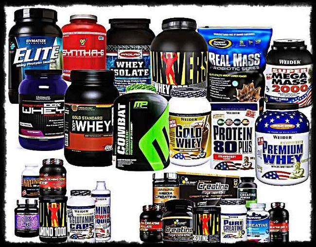 Спортивне харчування для росту м`язів