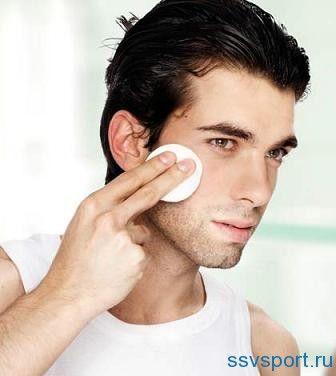 Лущення шкіри на обличчі у чоловіків - причини