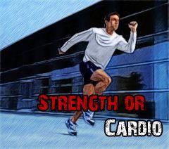 Силові або кардіо-вправи?