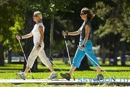 Скандинавська ходьба з палицями для схуднення - відгуки