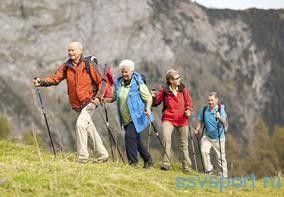Скандинавська ходьба для схуднення