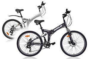 Складаний гірський велосипед з алюмінієвою рамою