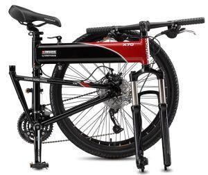 Гірський велосипед Montague Swissbike Х70 в розкладному вигляді