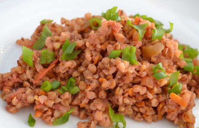 Каша з овочами - сніданок для бодібілдера