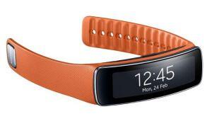 Фітнес браслет з крокоміром Samsung Gear Fit