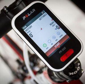 Пульсометр для велосипеда на кермо