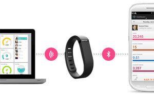 Синхронізація фітнес браслета Fitbit Flex з комп`ютером і смартфоном