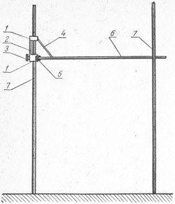Стійка для стрибків у висоту з планкою _ Stojka dlya pryzhkov v vysotu s plankoj