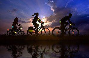 Світловідбивачі на одяг велосипедиста