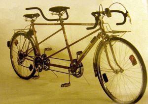 Тандем двомісний велосипед своїми руками