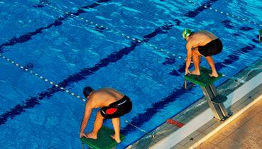 старт в плаванні