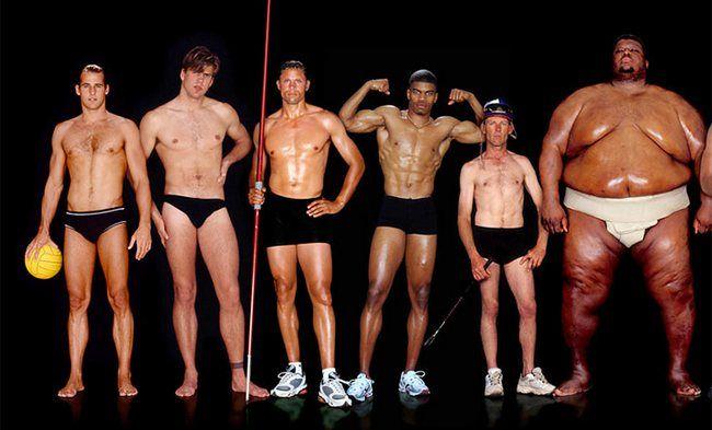 чоловіки з різних видів спорту
