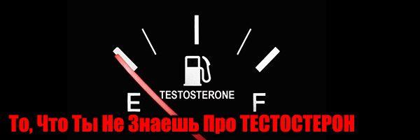 Те, що ти не знаєш про тестостерон. І як його підняти!
