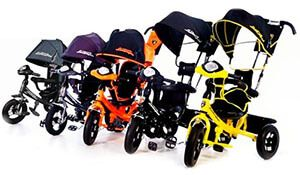 Триколісний велосипед lamborghini l2 і azimut air lamborghini