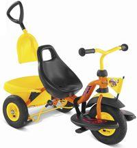 Триколісний велосипед з гумовими колесами - найкраще джерело задоволення для вас і вашої дитини