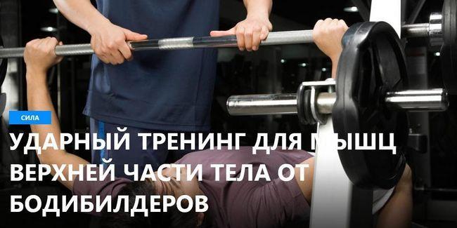 Тренінг для м`язів верхньої частини тіла