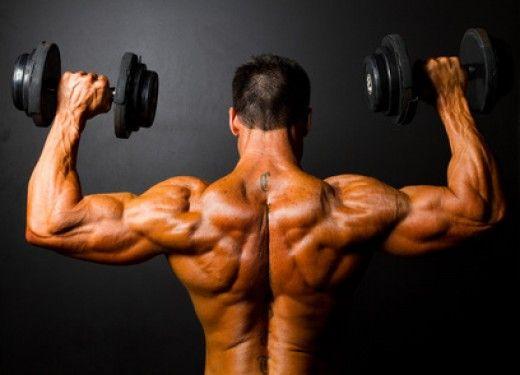 Тренування плечей, кращі вправи на плечі