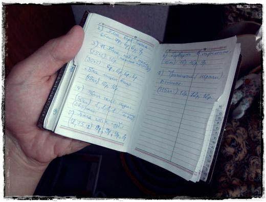 Тренувальний щоденник фото