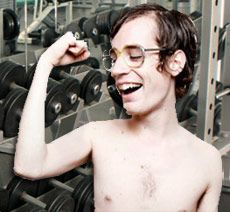 Ударна тренування м`язів на масу для бодібілдерів-новачків.