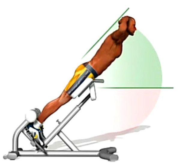 Вправи для хворої спини