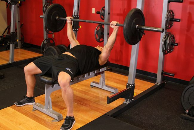 Вправи для грудних м`язів
