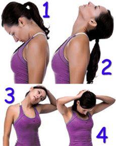 Вправи для шиї при остеохондрозі.