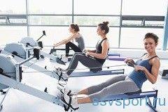 Вправи на гребному тренажері для схуднення
