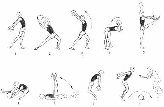 Вправи з футбольним м`ячем для хлопчиків 11-12 років * (5-6-ті класи, рис. 8)