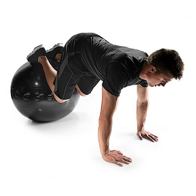 Вправи з м`ячем для фітнесу   як вибрати м`яч?