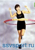 вправи з обручем для схуднення