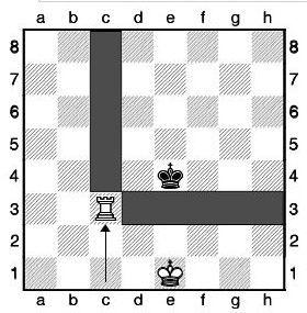 Урок двадцятий. Квадратний мат шахової турою.