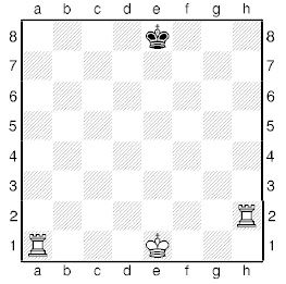 Урок сімнадцятий. Рішення шахових задач.