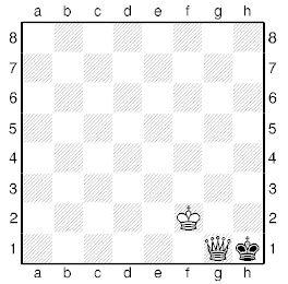 Лінійний мат шаховим ферзем