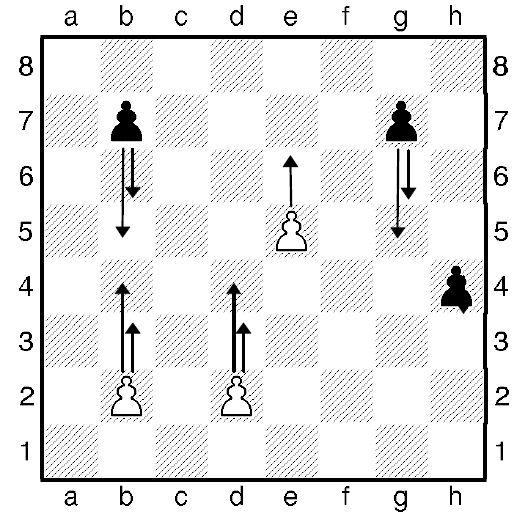 Урок восьмий. Як ходить шахова пішак.
