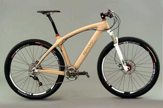 Гірський дерев`яний велосипед від Renovo
