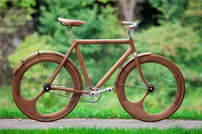 Дерев`яний велосипед від дизайнера Яна Ганневега