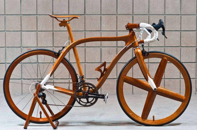 Дерев`яний велосипед від Сіешіро Сано
