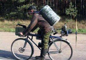 Вело рюкзак. Як вибирається сумка для велосипеда. Велосумка на багажник (велобаул або в народі велоштани)