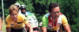 Грег Лемонд і Бернар Гіно - переможці тур де Франс