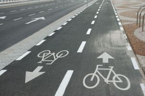 двостороння велосипедна доріжка